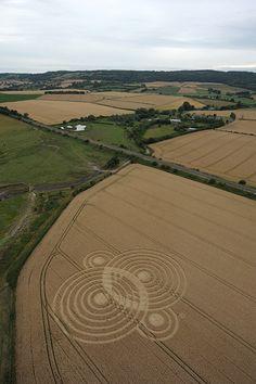 Crop Circles 2010 Season ~ July Formations