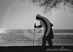 People And Trees, Elderly Woman Walking On A Cane - Download From Over 45 Million High Quality Stock Photos, Images, Vectors. Sign up for FREE today. Image: 74340278