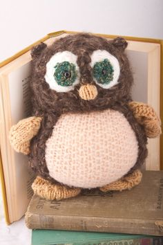 Owl - Repurposed  from Sweaters