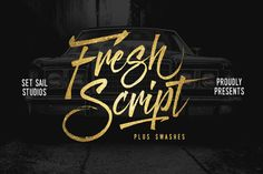 We're really excited to launch our freshest font yet - Fresh Script! Fresh Script is hand-painted typeface designed to help you create the look of stunning custom hand-lettering. Design Typography, Typography Fonts, Handwritten Fonts, Script Fonts, Business Brochure, Business Card Logo, Pilot Parallel Pen, Texture Web, Web Design