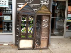 Little Free Library at Brooklyn Superhero Supply