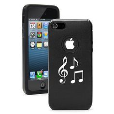 For Apple iPhone 6 6s Plus Aluminum Silicone Hard Case Cover Music Notes | eBay