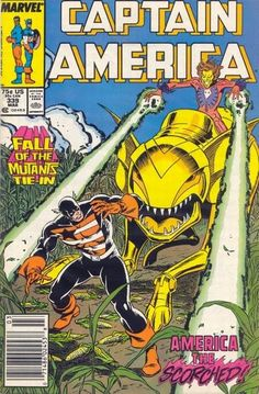 Captain America # 339 by Ron Frenz & Bob McLeod