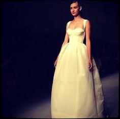 Top 10 Bridal Market Fall 2013 Wedding Dresses via Instagram | Bridal Musings | Amsale via Brides