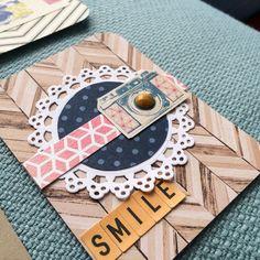 Project Life Embellished Handmade Cards