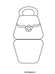 bag shaped mother's day card