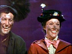 Mary Poppins behind the scene