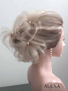 Fotogalerie svatebních účesů pro nevěsty. Svatební účesy pro blondýnky, tmavovlásky. Účesy polodlouhé vlasy, dlouhé vlasy, krátké vlasy, rozpuštěné vlasy. Fashion, Moda, La Mode, Fasion, Fashion Models, Trendy Fashion