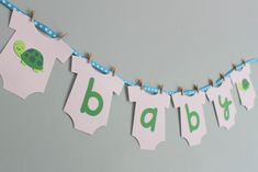 Baby Bowers Shower.....baby shower banner