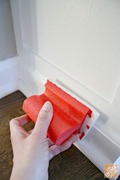 Those sneaky baseboards collect more dust than you think. Here's a surprisingly easy way to clean them.