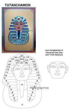 Irisvouwen: Tutanchamon