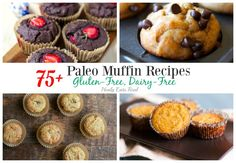 All these paleo muffins will knock you off your socks! Who knew it was possible to get legit muffin recipes without grains, gluten or dairy.
