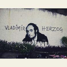 Vladimir Herzog - stencil