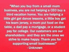 I love what I do, and supporting other creative moms!