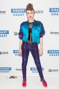Kiesza Performs At Reebok Classics And The FADER's Coast To Coast Series In NYC