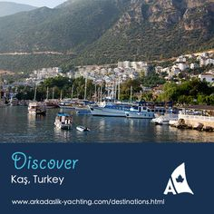 The bustling Kaş harbour is filled with boats for fishing, scuba diving, and day trips to nearby Kekova and the Greek island of Meis.