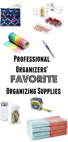 Our top list of unique organizing solutions that will make your life and home more .... organized! These are products that we use and love everyday.