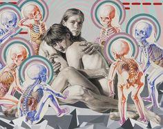 Michael Reedy revisa los temas eternos de la vida, la muerte y la condición humana. Sumado a su interés acerca de la anatomía humana, la ilustración médica, la ornamentación, la comedia negra, y lo siniestro.
