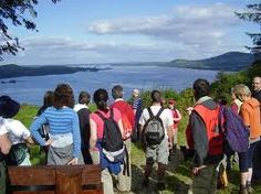 Hiking and Guided Hill Walking on Lough Derg on the River Shannon in Ireland. Escape...