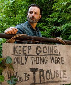 The Walking Dead Season 7 Episode 7 'Sing Me a Song'  Rick Grimes
