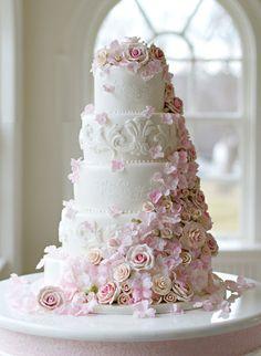 bolo de casamento de andares - Pesquisa Google