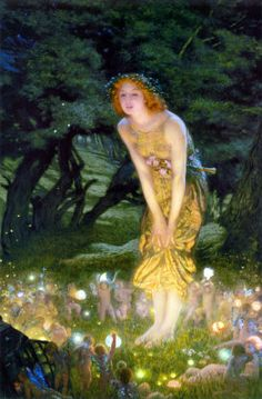 Edward Robert Hughes Midsummer Eve print for sale. Shop for Edward Robert Hughes Midsummer Eve painting and frame at discount price, ships in 24 hours. Cheap price prints end soon. Edward Robert Hughes, John William Waterhouse, Midsummer's Eve, Brian Froud, Edmund Dulac, William Turner, Pre Raphaelite, Beltane, Midsummer Nights Dream