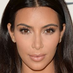 How Many Classic Kardashian Makeup Moves Can You Spot in This Picture of Kim?
