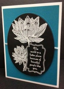 """Handmade card using """"People Like You"""" stamp set from Stampin' Up!"""