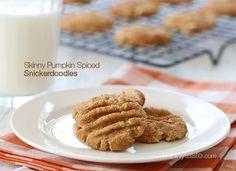 Skinny Pumpkin Spiced Snickerdoodles - Skinnytaste.com
