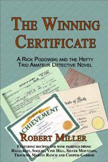 The Winning Certificate - A Rick Podowski and The Hefty Trio Amateur Detective Novel by Robert Miller #ebooks #kindlebooks #freebooks #bargainbooks #amazon #goodkindles