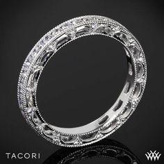 Tacori Reverse Crescent Eternity Princess Star Diamond Wedding Ring