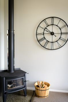 Clocks are great to add decor to a room