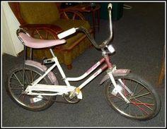 "bicycle 1970's | Vintage 1970's Huffy Banana Seat Bike Desert Rose 20"" | OMG! This was my bike!!"