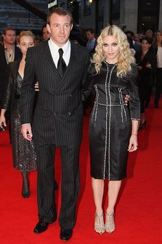 Guy Ritchie & Madonna    After marrying in 2000, the headline-snagging couple worked together on the much-maligned Swept Away in 2002.