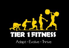 Logo Design by SteamCraven for Tier 1 Fitness, logo for new outdoor primal/functional physical training - Design #780386