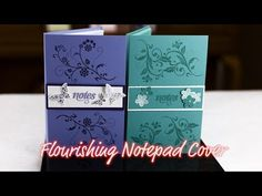 Flowering Flourishes Notepad - Giggles Creative Corner