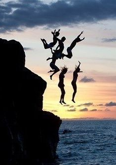 Blaisezabini: because we jumping off cliffs bff pictures, best friend pictures, summer pictures Cute Friend Pictures, Best Friend Pictures, Friend Pics, Summer Dream, Summer Fun, Summer Nights, Summer Bucket, Summer Vibes, Shotting Photo