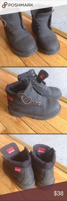 Kids Timberland Boots In good condition but some wear. Size 12.5 kids size. Timberland Shoes Boots