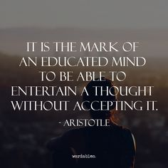 Responsible for helping to plant the very roots of Western philosophical thought, Aristotle was a student of Plato.