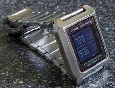 Worlds sexiest digital watch? - Page 11 Retro Watches, Modern Watches, Stylish Watches, Vintage Watches, Luxury Watches, Cool Watches, Watches For Men, Casio Digital, Digital Watch
