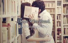 Boys who read  #yesplease
