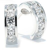 Kreoler med diamanter - Creolo Diamantøreringer