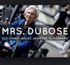 "Chapter 11: ""She was vicious"" (Lee 133). Mrs. Dubose."