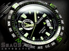 Seiko Superior Automatic Men& Watch - In Stock, Free Next Day Delivery, Our Price: Buy Online Now! Gents Watches, Seiko Watches, Cool Watches, Seiko 5 Sports, Skeleton Watches, Seiko Men, Automatic Watches For Men, E 10, Military