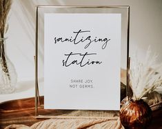 An 8x10 Sanitizing station table sign for any event. You can edit the text on this sign as well on your own Cigar Bar Wedding, Wedding Table, Invites, Wedding Invitations, Table Signs, Wedding Stationary, Cigars, Etsy Seller, Place Card Holders