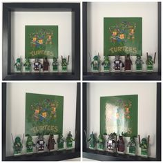 Teenage Mutant Ninja Turtles Minifigure Frame Mum by FigureThatBox