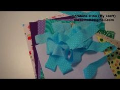 Quiet book tutorial: how to prepare pages and binding strips - YouTube