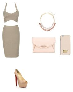 """""""Untitled #128"""" by andreeandree ❤ liked on Polyvore featuring Christian Louboutin, Givenchy, MICHAEL Michael Kors and Lane Bryant"""