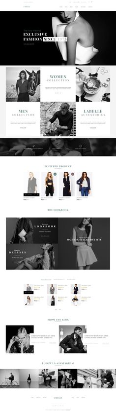LaBelle - Fashion PSD Templates • Download ➝ https://themeforest.net/item/labelle-fashion-psd-templates/16304230?ref=pxcr Website Design Layout, Web Layout, Website Designs, Website Themes, Fashion Website Design, Simple Wordpress Themes, Ecommerce Web Design, Ui Web, Fashion Sites