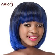 Neat Bang Women's High Temperature Fiber Adiors Sraight Bob Wig #>=#>=#>=#>=#> Click on the pin to check out discount price, color, size, shipping, etc. Save and like it!